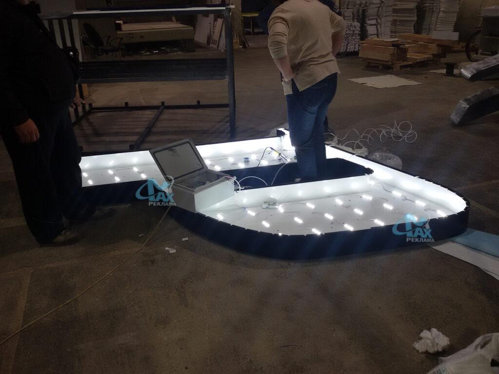 светещи алуминиеви букви